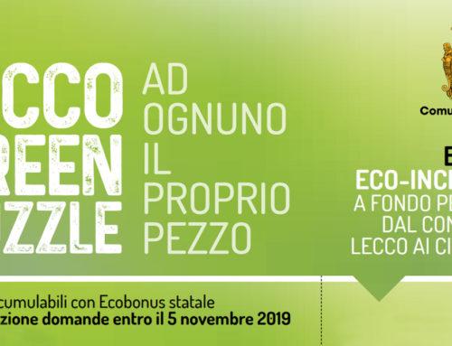 Lecco Green puzzle – ecoincentivi a fondo perduto