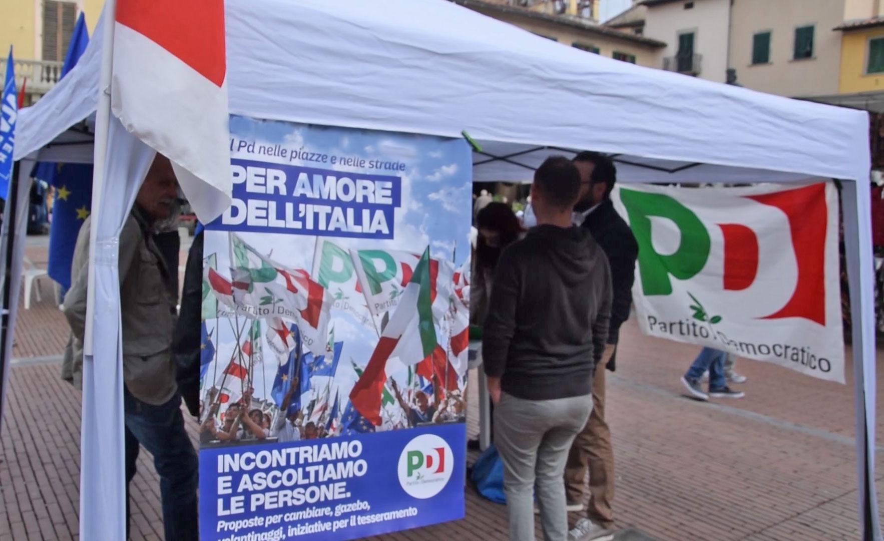 Gazebo PD città di Lecco