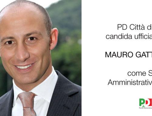 Il PD città di Lecco candida ufficialmente Mauro Gattinoni