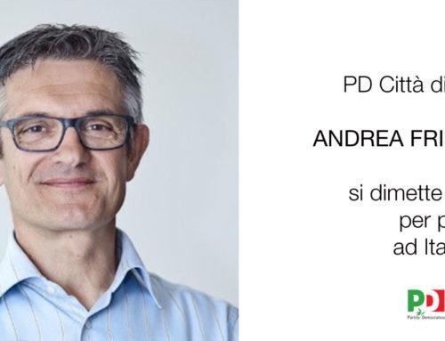 Andrea Frigerio si dimette dal PD