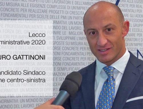 Mauro Gattinoni candidato sindaco coalizione centro-sinistra