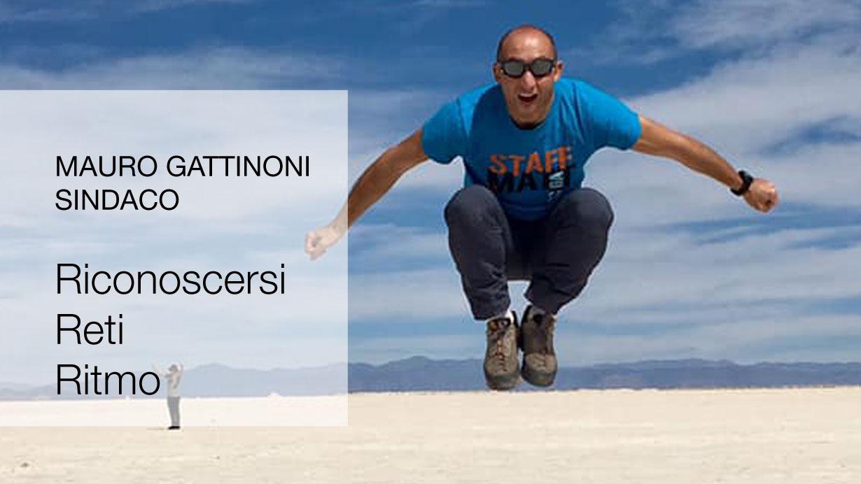Mauro Gattinoni candidato sindaco Lecco riconoscersi reti ritmo