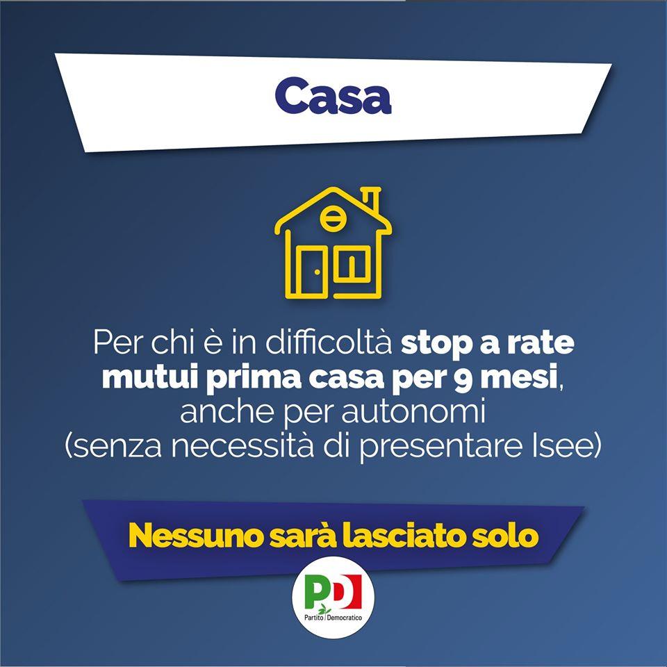 decreto cura italia Casa