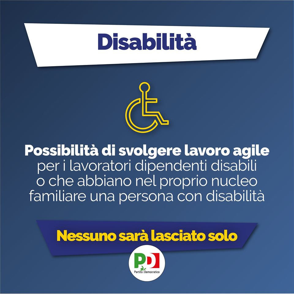 decreto cura italia disabilita