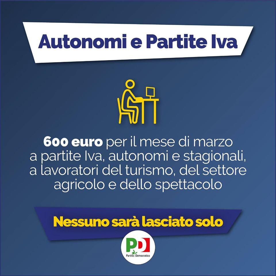 decreto cura italia lavoratori autonomi e partite iva