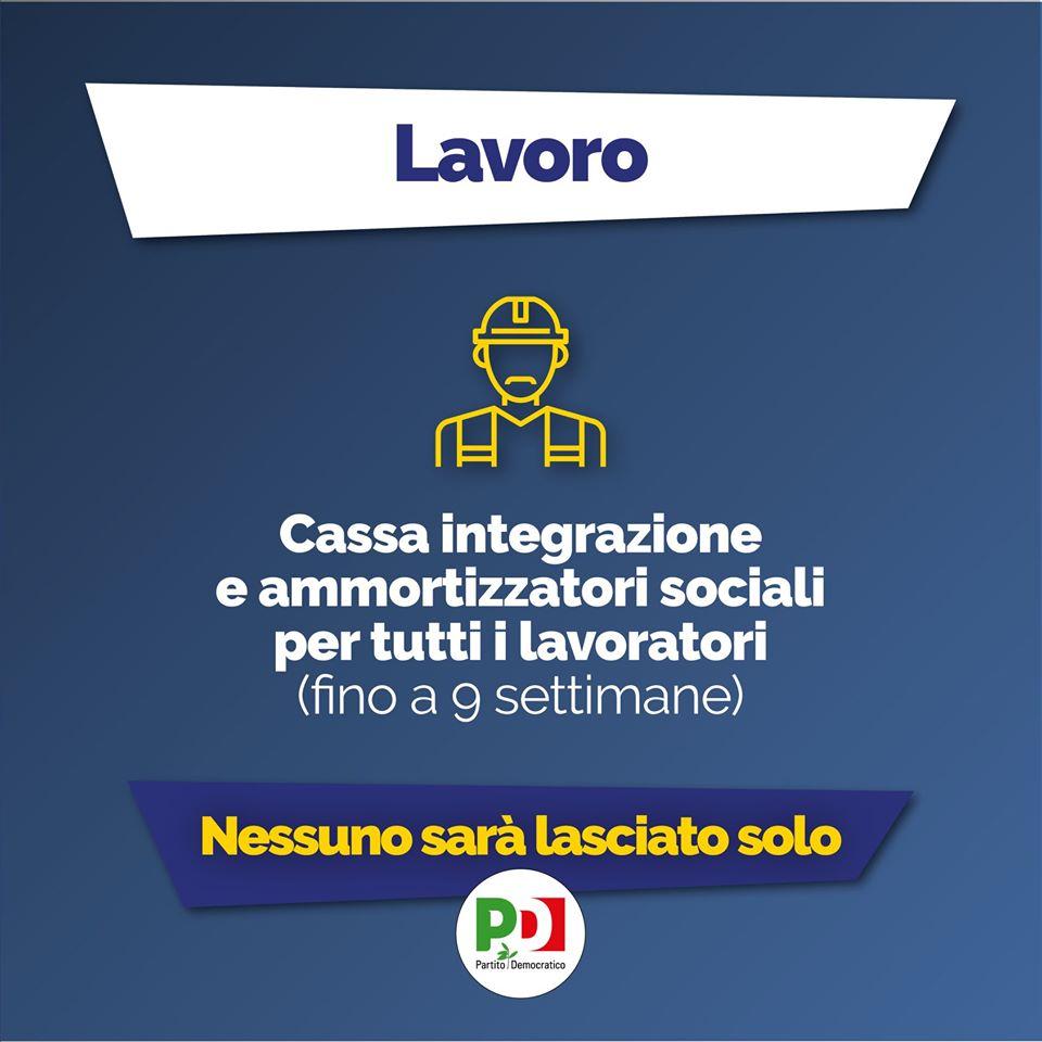 decreto cura italia lavoro