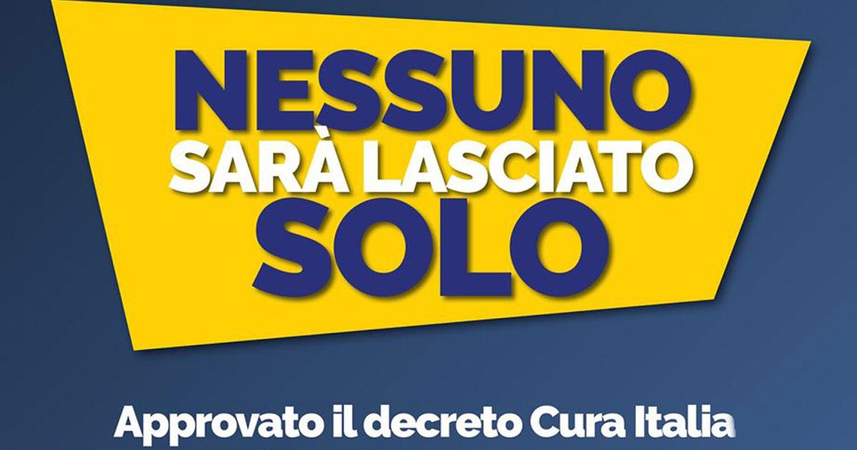 decreto cura italia partito democratico