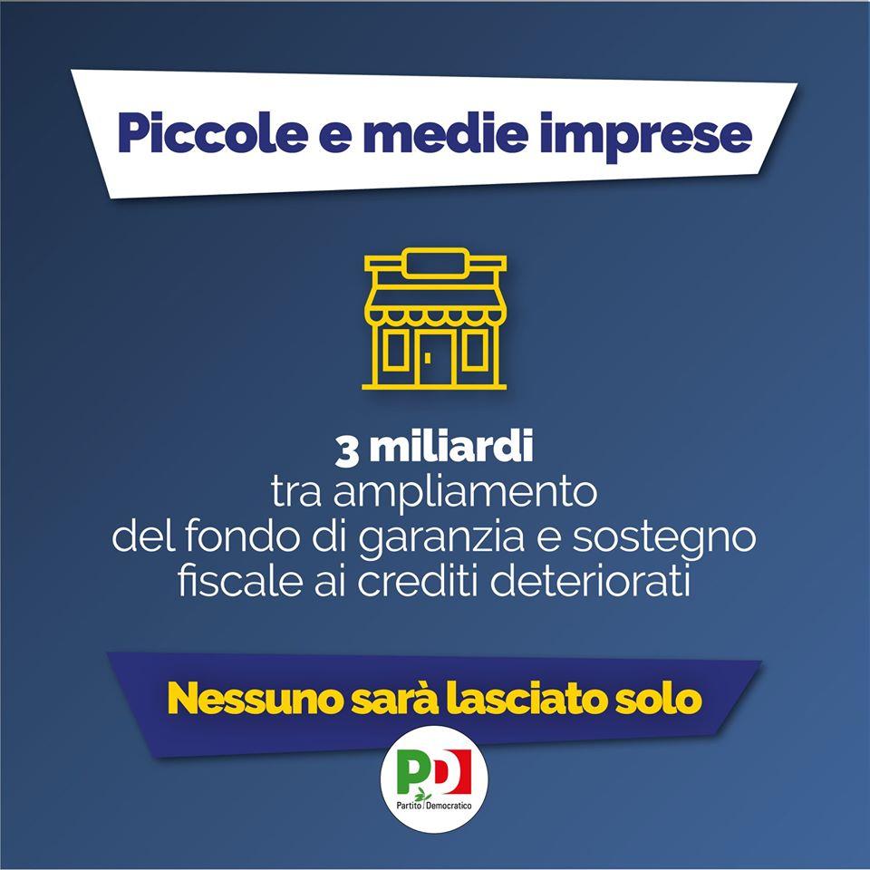 decreto cura italia piccole e medie imprese