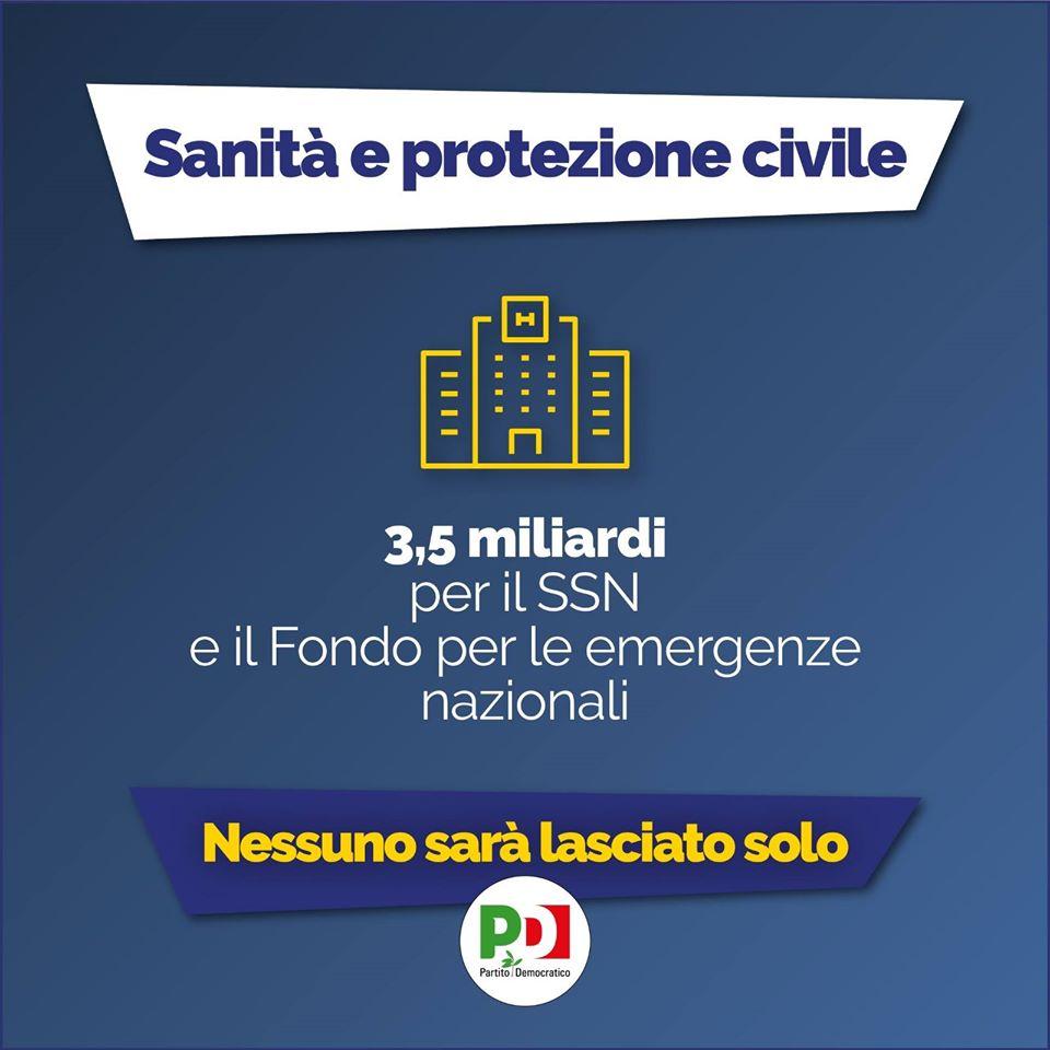 decreto cura italia sanità e protezione civile