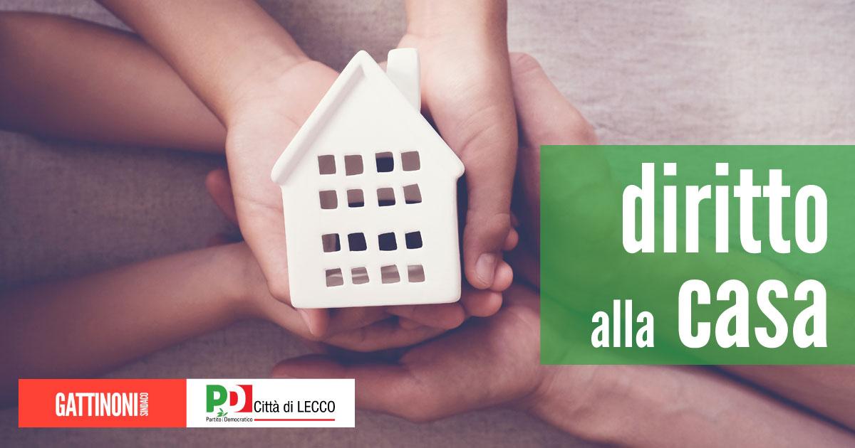 diritto alla casa housing sociale Lecco