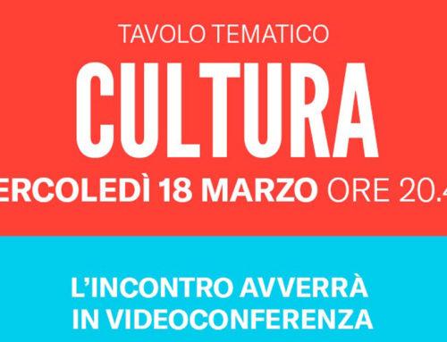 Tavolo tematico CULTURA