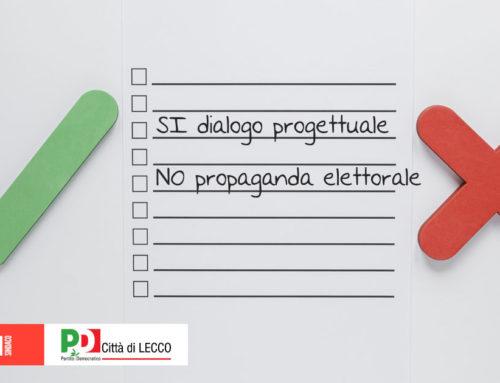 Coalizione Gattinoni Sindaco: lavoro progettuale