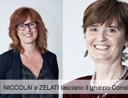 Niccolai e Coti Zelati lasciano gruppo Consiliare PD