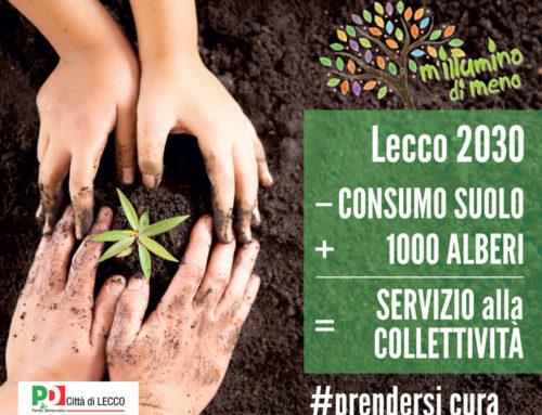 Lecco: meno consumo di suolo e + verde