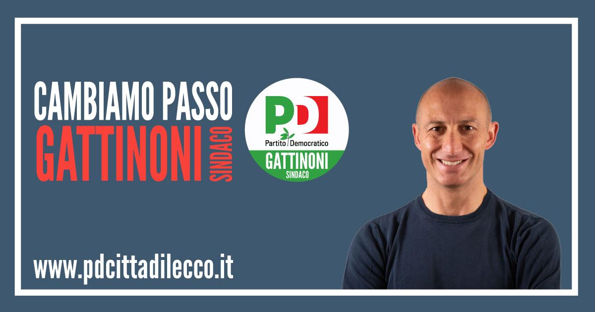 PD città di Lecco Gattinoni sindaco