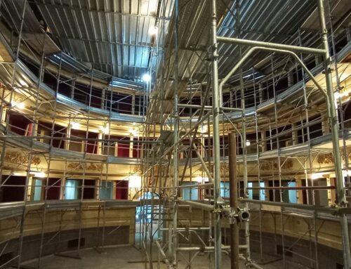 Teatro: fine lavori a novembre, la novità dell'aria condizionata